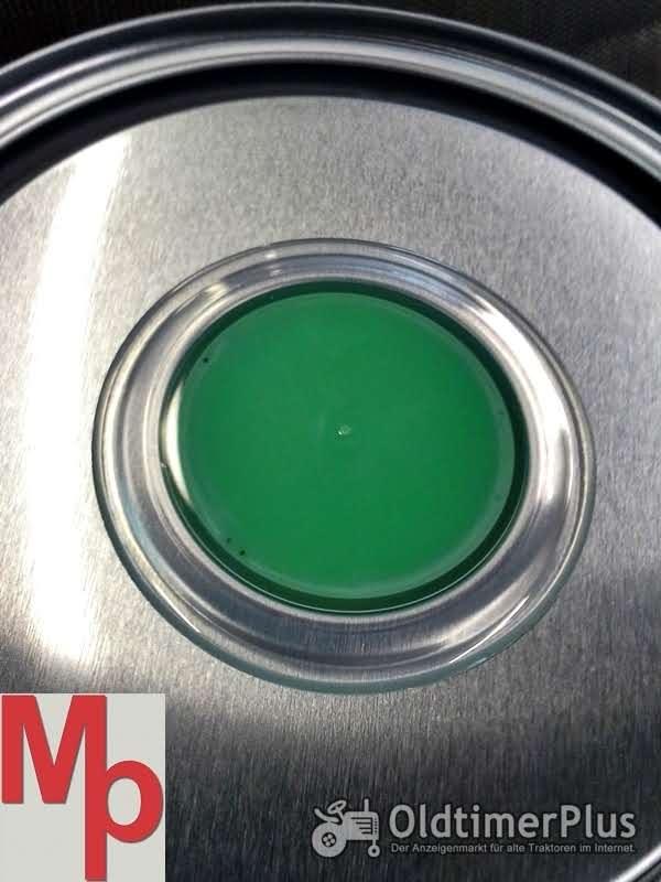 Normag Schlepperlack Normag grün Foto 1