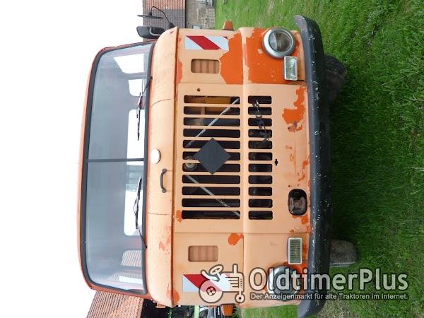 IFA W 50 Pritsche mit Ladekran Foto 1