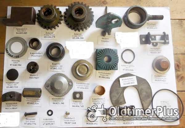 Mengele Maishäcksler, Ersatzteile, MB2, MB3, MB280, MB350, usw. Foto 1