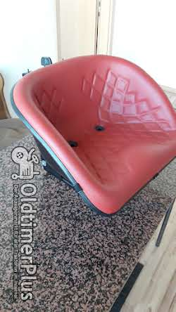 star Oldtimersitz für Traktoren Universal Traktorsitz Schleppersitz Foto 5