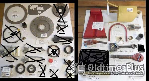 IHC Ersatzteile, Schlepperteile, Sortiment D Foto 1