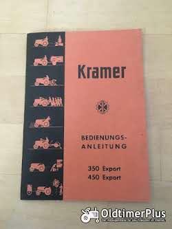 Literatur Kramer Bedienungsanleitung 350 und 450 Export