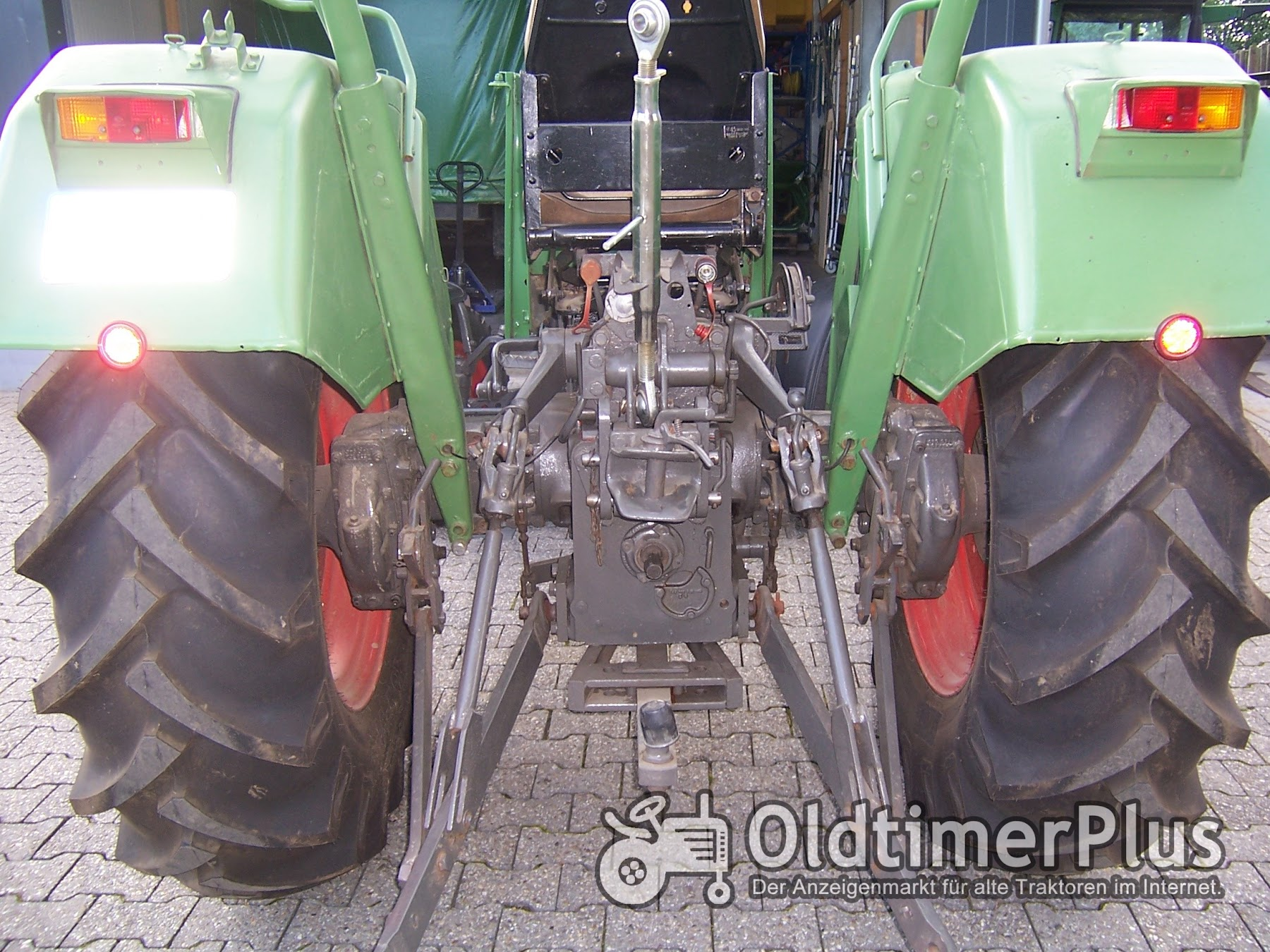 Fendt Farmer 3 S Turbomatik Foto 5