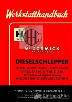 IHC Mc Cormick Farmall en International werkplaatsboeken  handleidingen en onderdelenboeken Foto 6