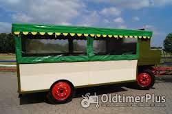 Eisenwerk Grümer Planwagen - Anhänger – Einzelstück – Typ DB 8000 – DB 80 Foto 3