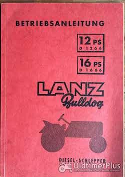 Literatur Lanz Bulldog Betriebsanleitung für D1266 / D1666