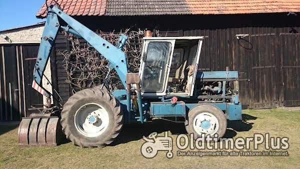 T159 DDR Landmaschine, Mobildrehkran,Sammlerstück Foto 1