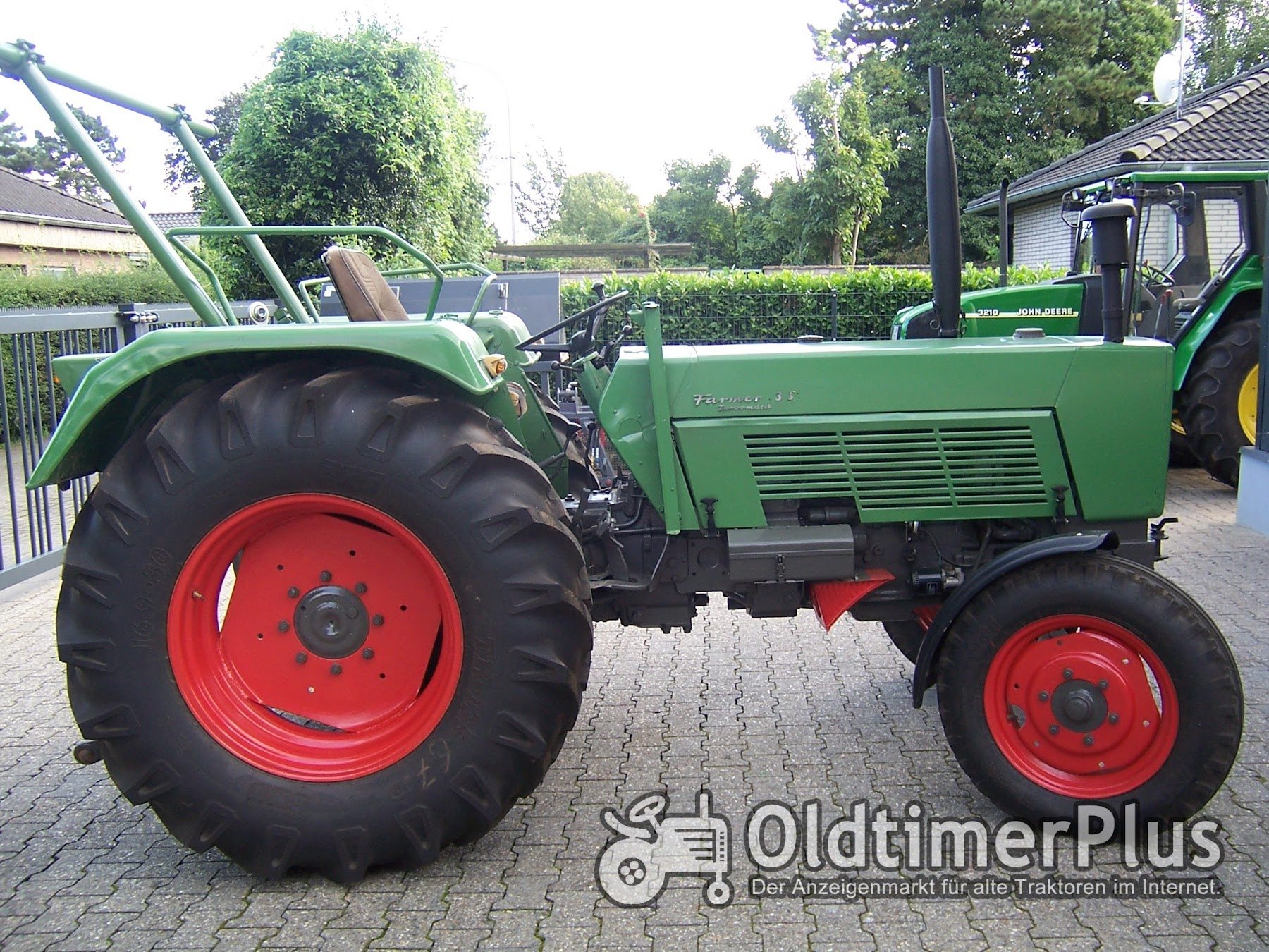 Fendt Farmer 3 S Turbomatik Foto 3