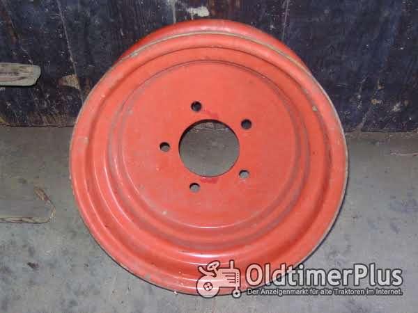 1 Vorderradfelge  16 Zoll 5 Loch Deutz Foto 1