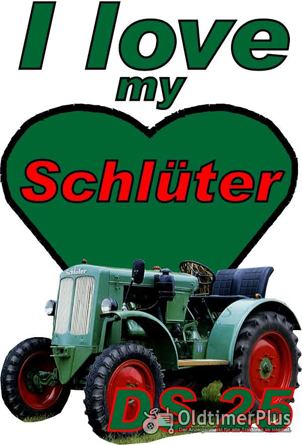 I love Schlüter DS 25 T-Shirt Foto 1