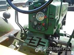 John Deere 720 Diesel mit Benzinmotor zum anlassen Foto 6