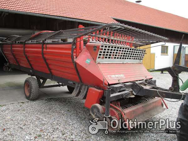 Landsberg (Pöttinger) Ladewagen, Erntewagen Foto 1