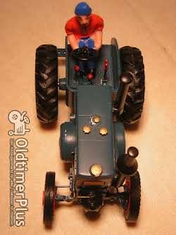 Lanz Bulldog MO-Miniatur Modell in Guss Weissmetall Foto 5