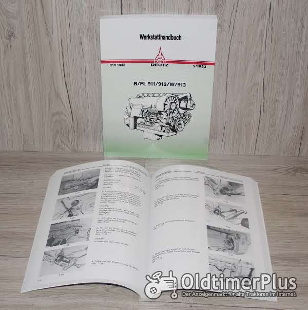 Werkstatthandbuch Deutz Motor B/FL 911 912 913 Foto 1