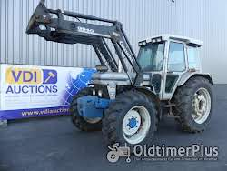 Ford 7810 Allrad Silver Jubilee with loader
