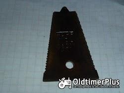 Fahr diverse Fingerplatten für alte Fahr Mähwerke Foto 6
