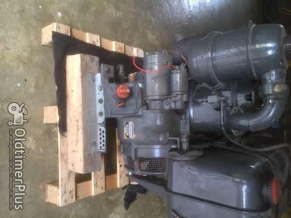 Hatz Stationar Motor E88-FG Foto 1