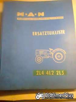 Literatur MAN Schlepper Ersatzteilliste 4L2-2L4-2L5