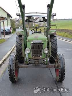 Fendt Farmer 3 S mit Verdeck Frontlader Schnellgang in Original Patina photo 3