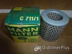 MANN C711/1 Luftfilter