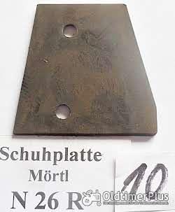 Mörtl, Stockey & Schmitz, Mähwerk, Fingerbalkenmähwerk, Schleppermähwerk. Ersatzteile, Messerklingen Foto 4