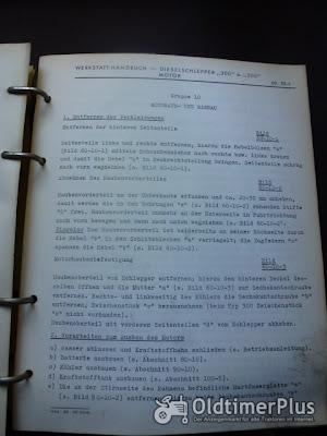 Werkstatt Handbuch Nr. 7132 für John Deere Lanz Dieselschlepper Foto 3