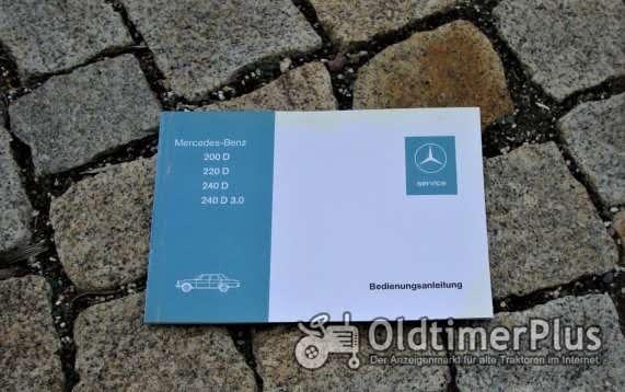 Betriebsanleitung Mercedes W115 200 D 220 D 240 D 3.0 1974 /8 Diesel Foto 1