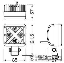 Osram OSRAM LEDriving® Cube-X Wide & Accent mit Tagfahrlicht X SHAPE Foto 3