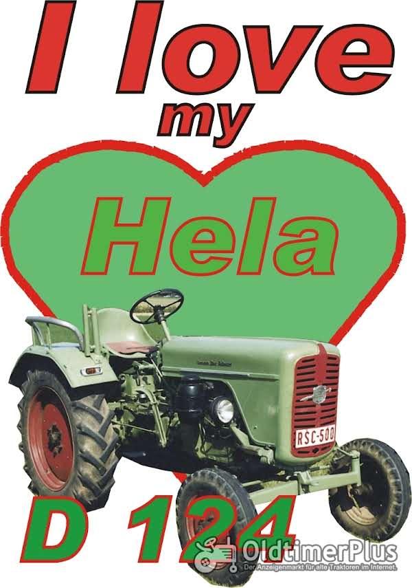 I love Hela D 124  T-Shirt Foto 1