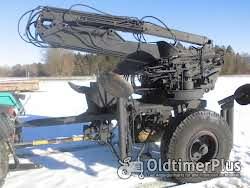 Bagger Bagger/ Kran für Schlepperzapfwelle mit Hydr. Teleskoparm und 4 Greiferanschlüßen Foto 2