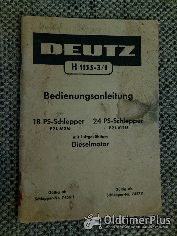 Deutz F2L612 Bedienungsanleitung Foto 1