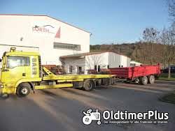 Landmaschinentransporte TransBaer-Viersen,Miststreuer Strohpresse Heupresse Kippkarre Mb Trac Foto 6