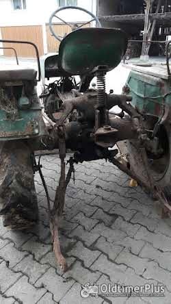 Güldner Haifisch 6 Gang Traktor ohne Motor -mit 6 Gang Getriebe läuft ca. 35 KM/H Foto 4