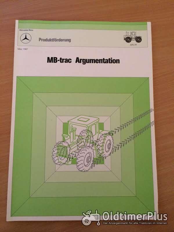 Mercedes MB-trac Argumentation Foto 1
