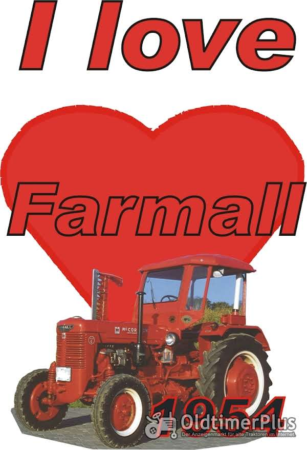 I love Farmall 1954 T-Shirt Foto 1