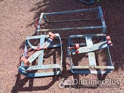 Antieke ploeg om bieten te rooien & 3 slede s' plus schoffelploeg voor trekpaard Foto 4