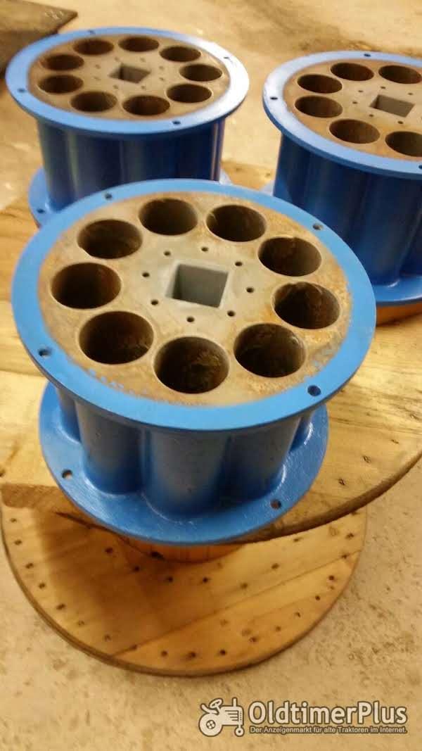 Mayco Piccola Rotoren für Spritzmaschine Foto 1