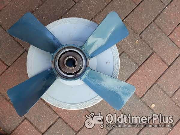Lüfterflügel für Kühler Lanz D 5506 Seitenglühkopf Foto 1