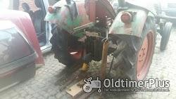 Kramer Traktor KL 300 mit 2 Zylinder Luftgekühlten Deutz Dieselmotor Foto 6