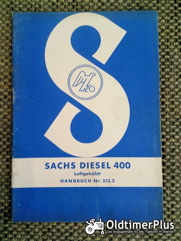 Sachs Diesel 400 Handbuch Nr. 512.2 Foto 1
