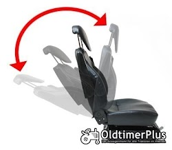 Universal Traktorsitz mit Feder - Öldämpfer System, belastbar bis 130 kg NEU Foto 4