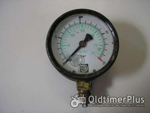 Rau-Manometer Foto 1