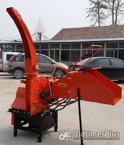 Holzhäcksler mit eigener Hydraulikversorgung - keine Schlepperhydraulik erforderlich! AgrimeXX WC 8 H Foto 5