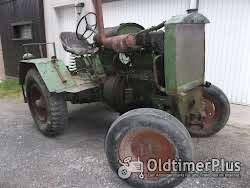Eigenbau Traktor mit MWM KD 15Z Motor Foto 2