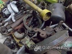 MB TRAC 800 Motor mit Getriebe , Achsen etc. Foto 4