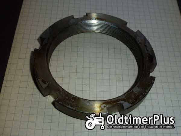 Deutz 02316043 Nutmutter/Nutring Getriebe/Lenkachse Foto 1