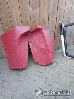 Eine Scheibe mit Rahmen Sowie Zwei Türen Ist für ein Fritzmeierverdeck Foto 2