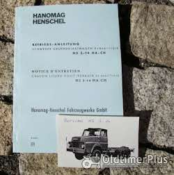 Literatur Betriebsanleitung Hanomag-Henschel HS 3-14 HA CH 1970
