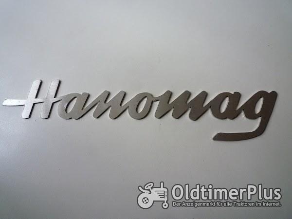 HANOMAG Schriftzug klein Foto 1