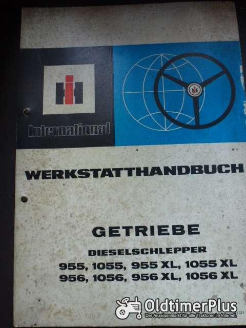 IHC Werkstatthandbuch Getriebe f. Dieselschlepper Foto 1